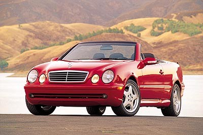 2001 Mercedes Benz CLK Convertible Top