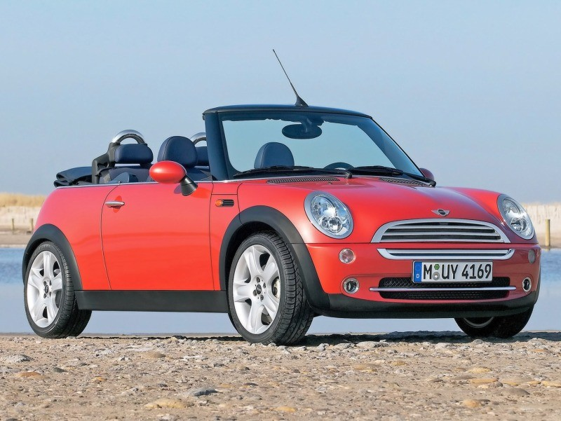 2004 Mini Cooper Convertible Top