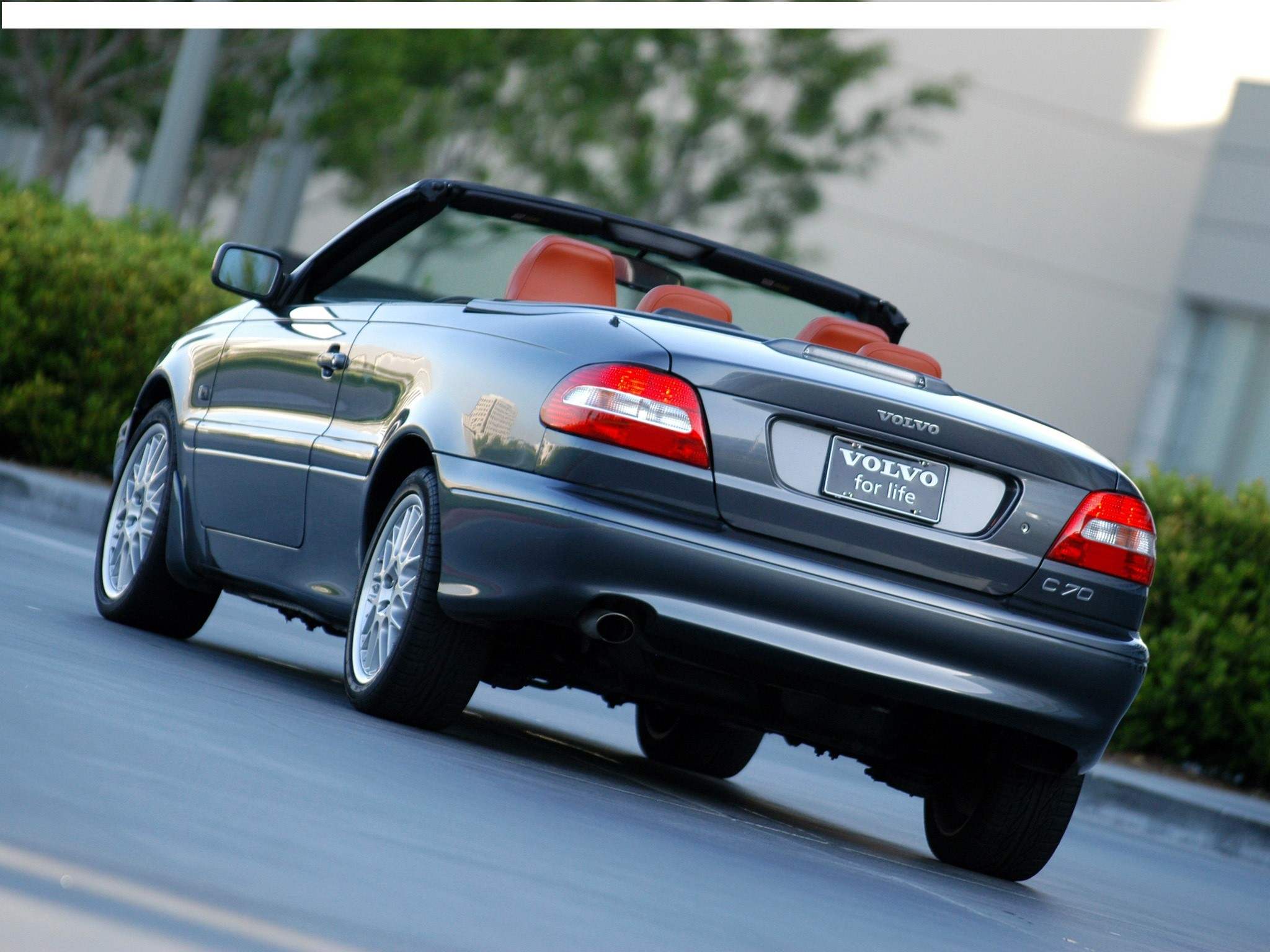 2005 Volvo C70 Convertible Top