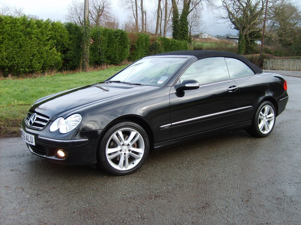 2009 Mercedes Benz CLK Convertible Top