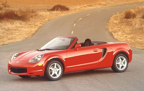 2005 Toyota MR-2 Spyder Convertible Top