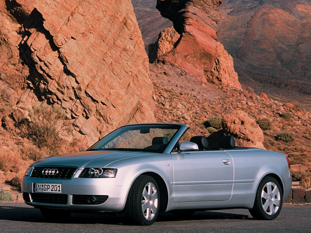 2003 Audi A4, S4, RS4 Convertible Top