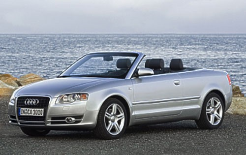 2005 Audi A4, S4, RS4 Convertible Top