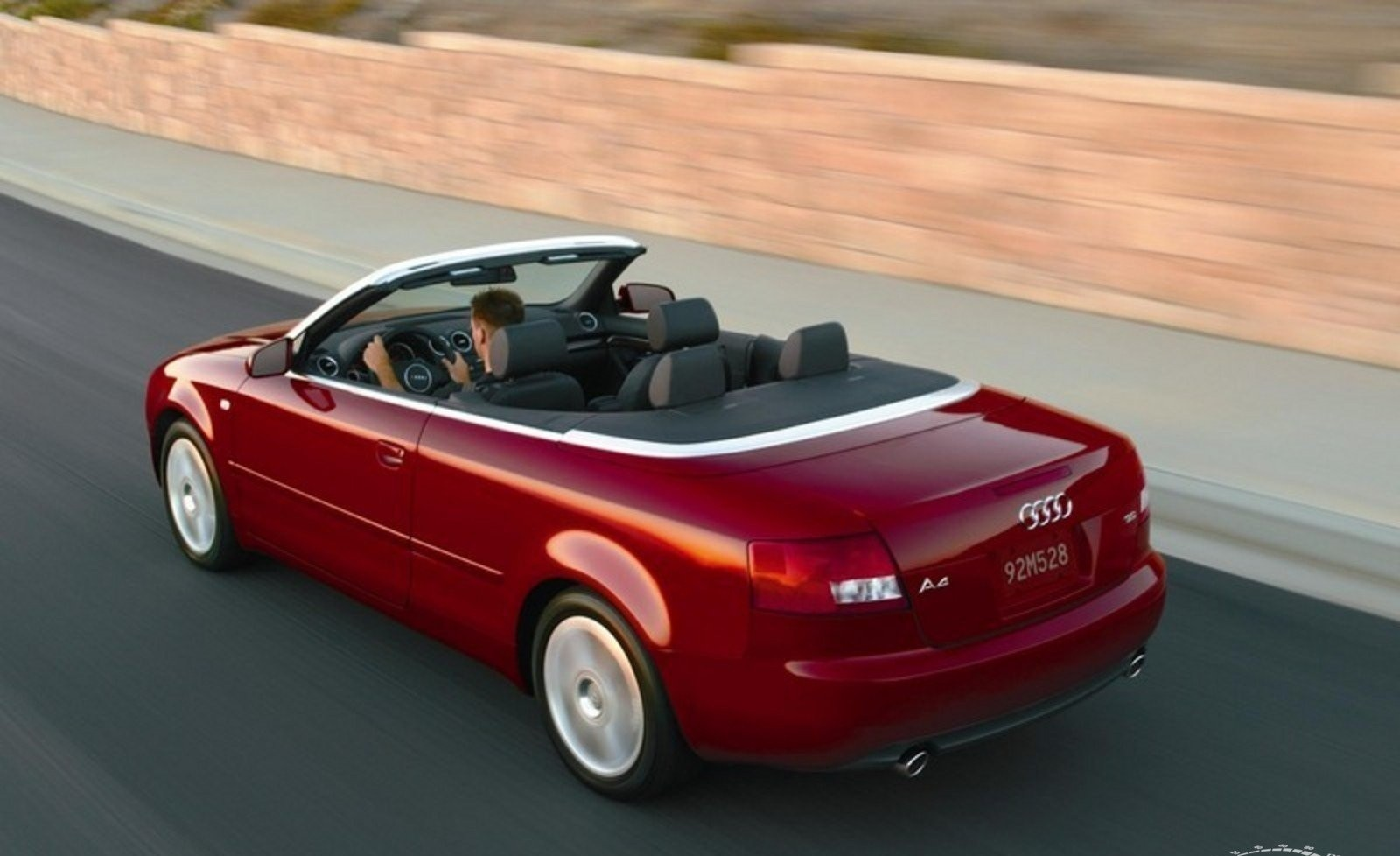2006 Audi A4, S4, RS4 Convertible Top