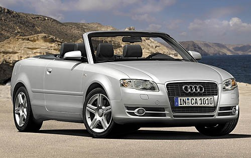 2007 Audi A4, S4, RS4 Convertible Top