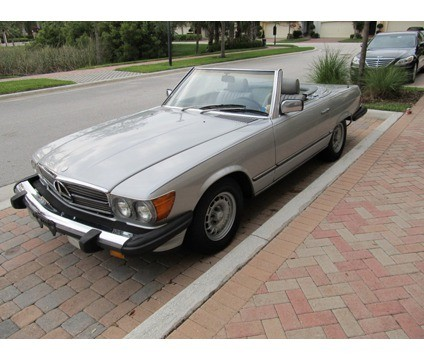 1985 Mercedes Benz SL Convertible Top with Plastic Window