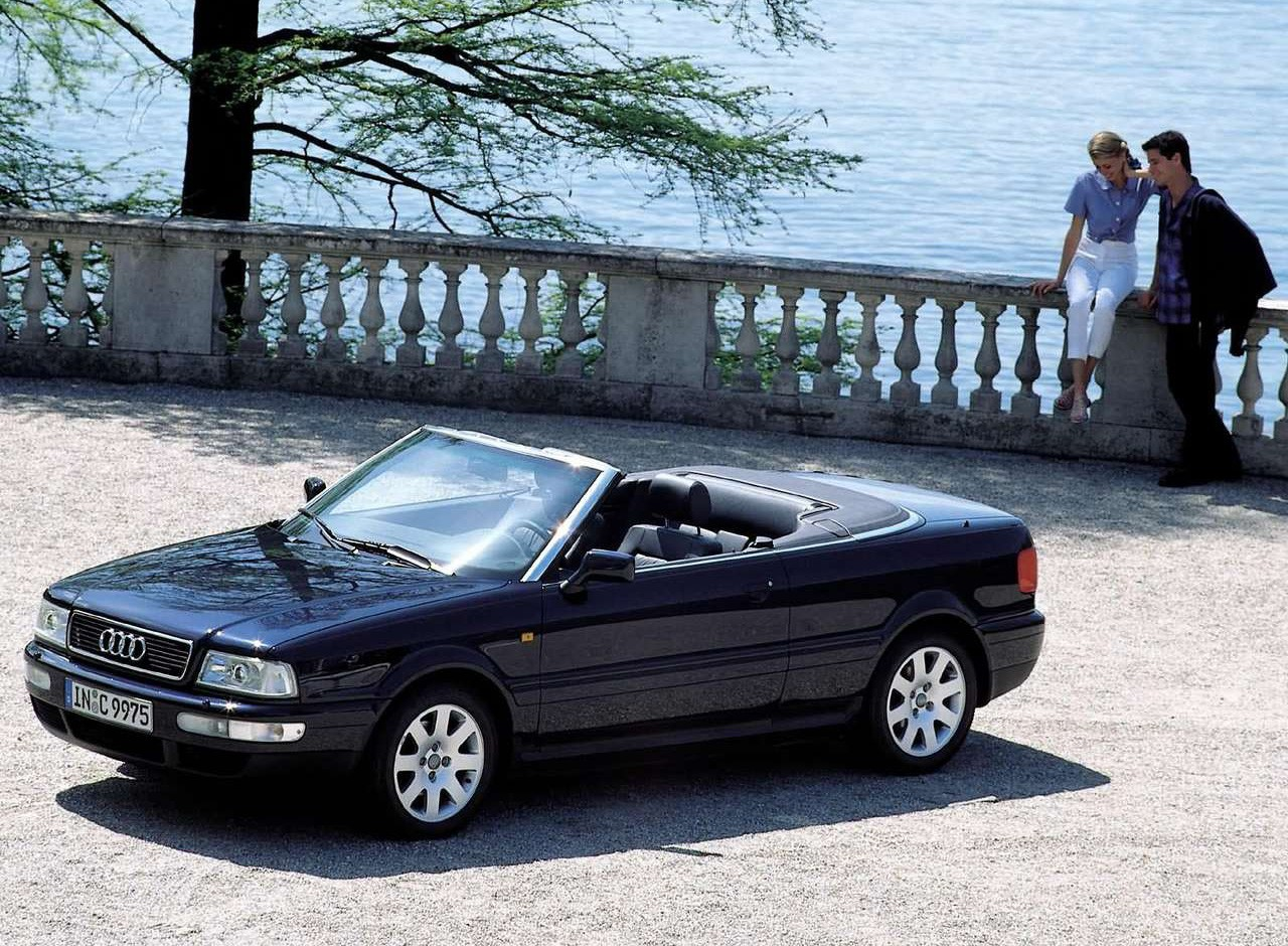1992 Audi Cabriolet Convertible Top