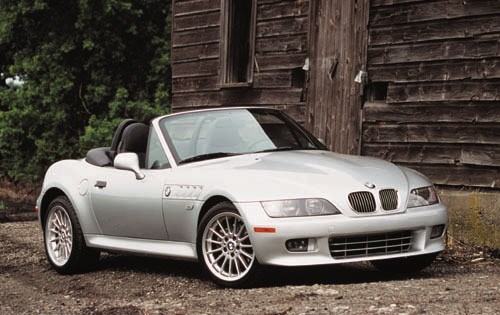 1996 BMW Z-3 Convertible Top