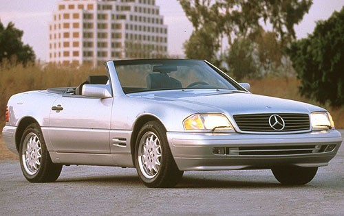 2002 Mercedes Benz SL Convertible Top