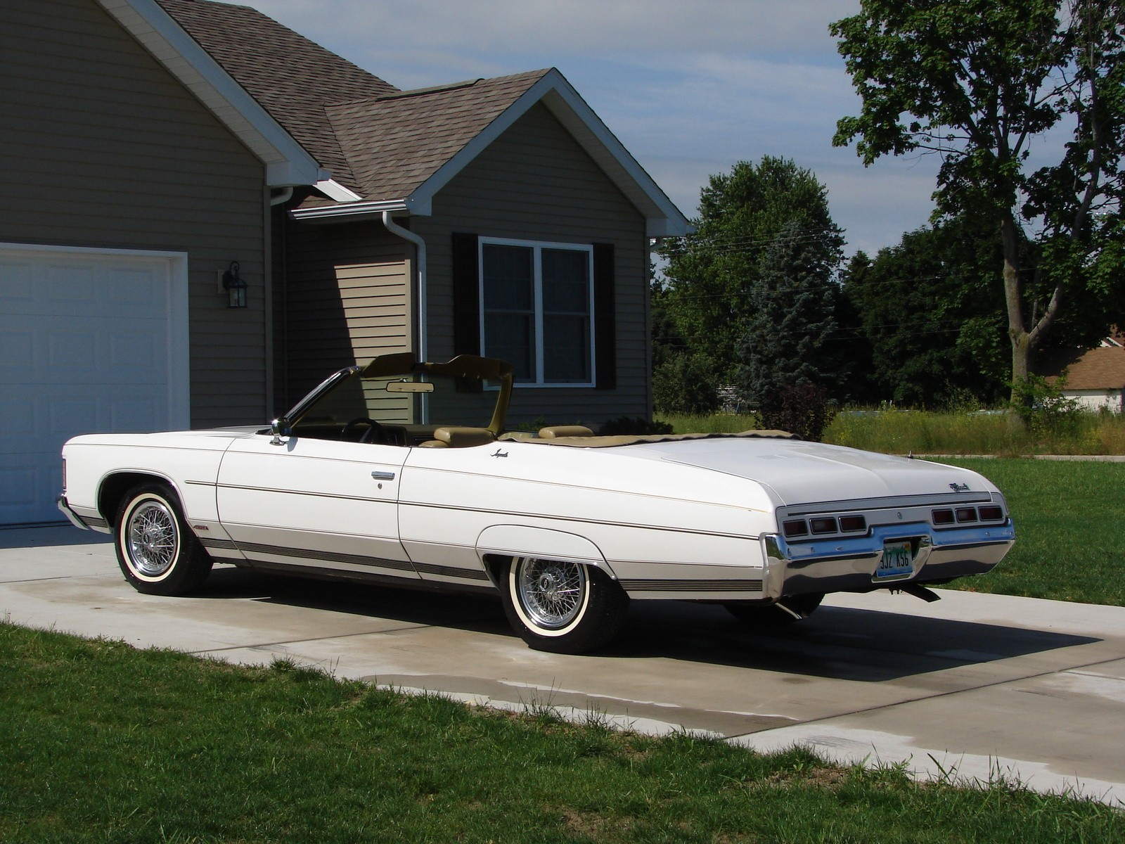 1971 Chevrolet Impala Convertible Top